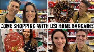 Come Shopping With Us | Home Bargains | Autumn | Christmas | Mr Carrington | Kate McCabe
