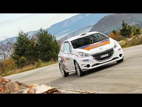 10. Rally Jahorina 2016 | SS 4 - Trebević 2 | Rok Turk - Zdravko Draženović (Peugeot 208 R2)
