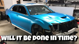 Will my Chrysler 300 SRT8 make it to Tuned Originals? | Handles install | Chrome delete | Vlog