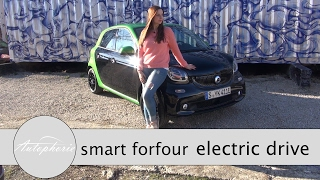 smart ForFour electric drive Test / 60 kW Elektro-Stadtauto - Autophorie