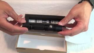 thrunite tn12 2016 flashlight unboxing