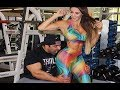 AWESOME FITNESS MODEL WORKOUT  - Female Fitness Motivation HD