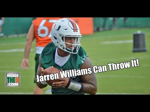 QB Jarren Williams Full Highlights From First Practice