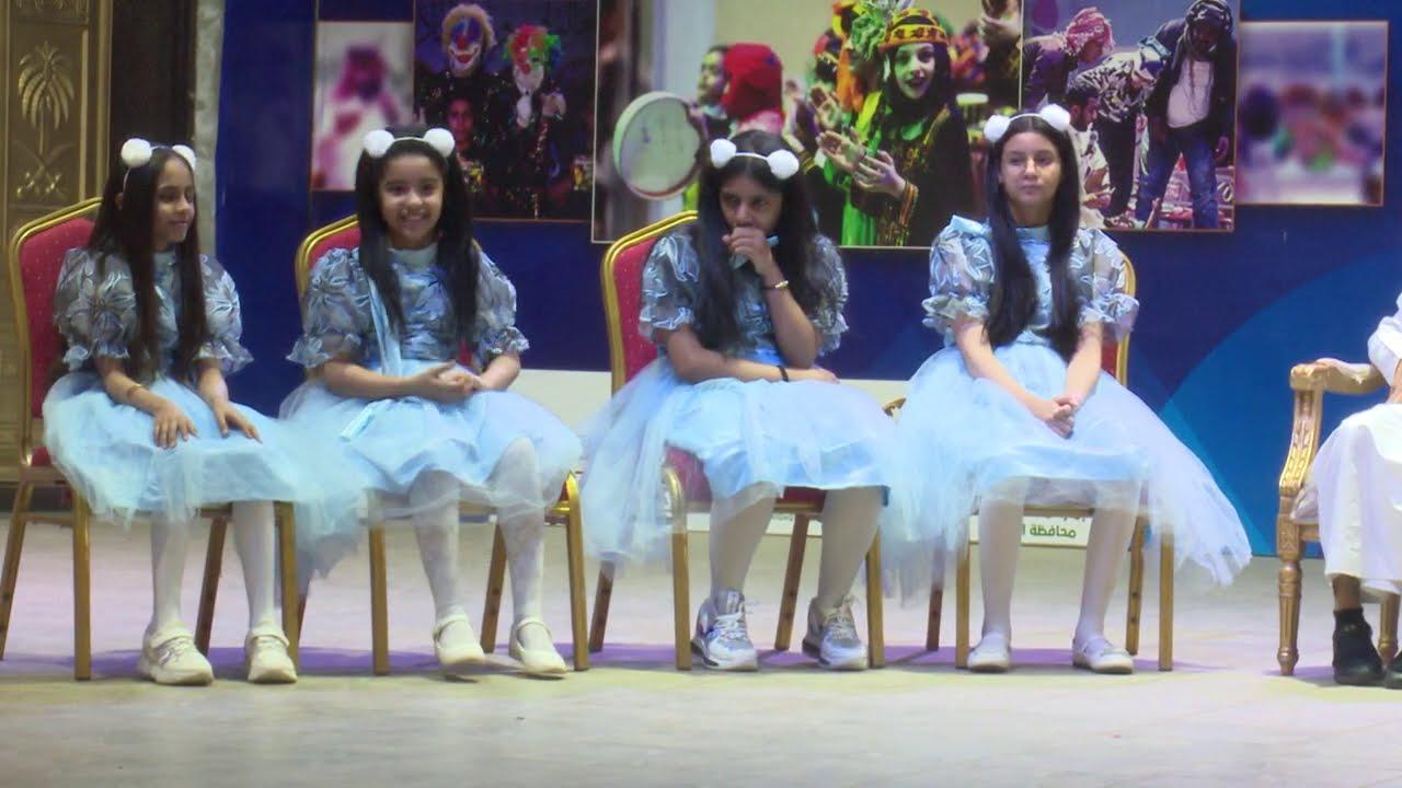 قناة اطفال ومواهب الفضائية حفل وسام البادية 2 بحديقة الفراشة