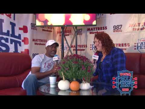 WMZQ Fall Fest - Darius Rucker & Ty Bailey Discovered A Rivalry At WMZQ Fall Fest