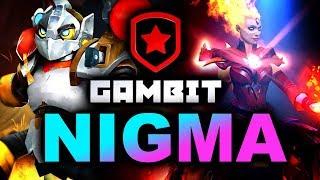 NIGMA vs GAMBIT - ELIMINATION MATCH - WePlay! Mad Moon DOTA 2