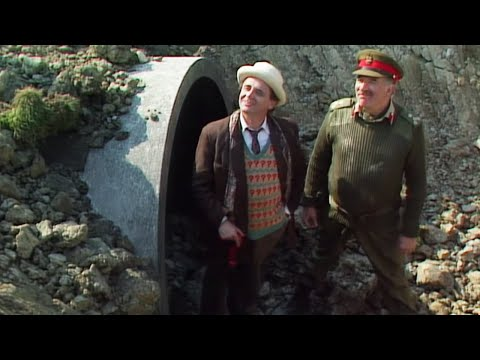 The Doctor Is Saved By The Brigadier | Battlefield | Doctor Who