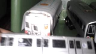 M.T.A toy train reveiw
