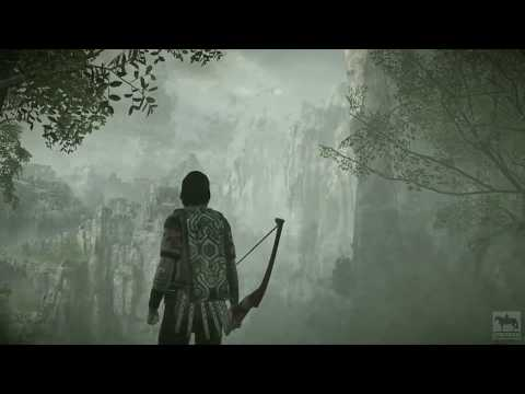 Shadow of the Colossus PS4  B5 cliffs waterfall