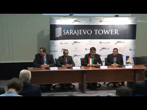 Sarajevo Tower presentation, 07.04.2015. UNITIC