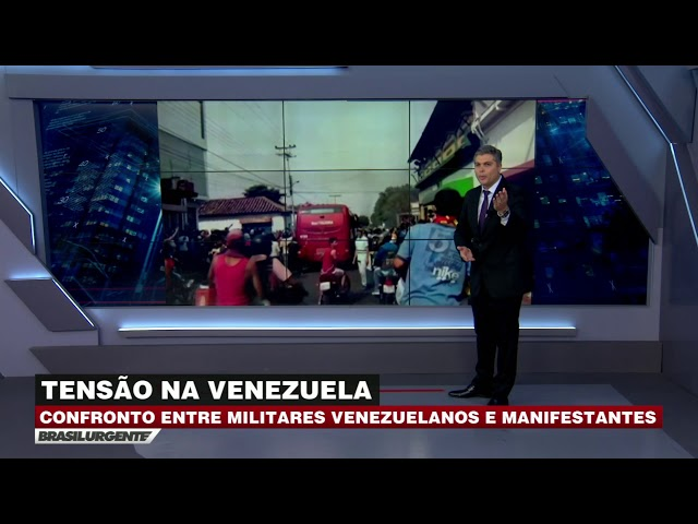 Juan Guaidó faz pronunciamento em Cúcuta