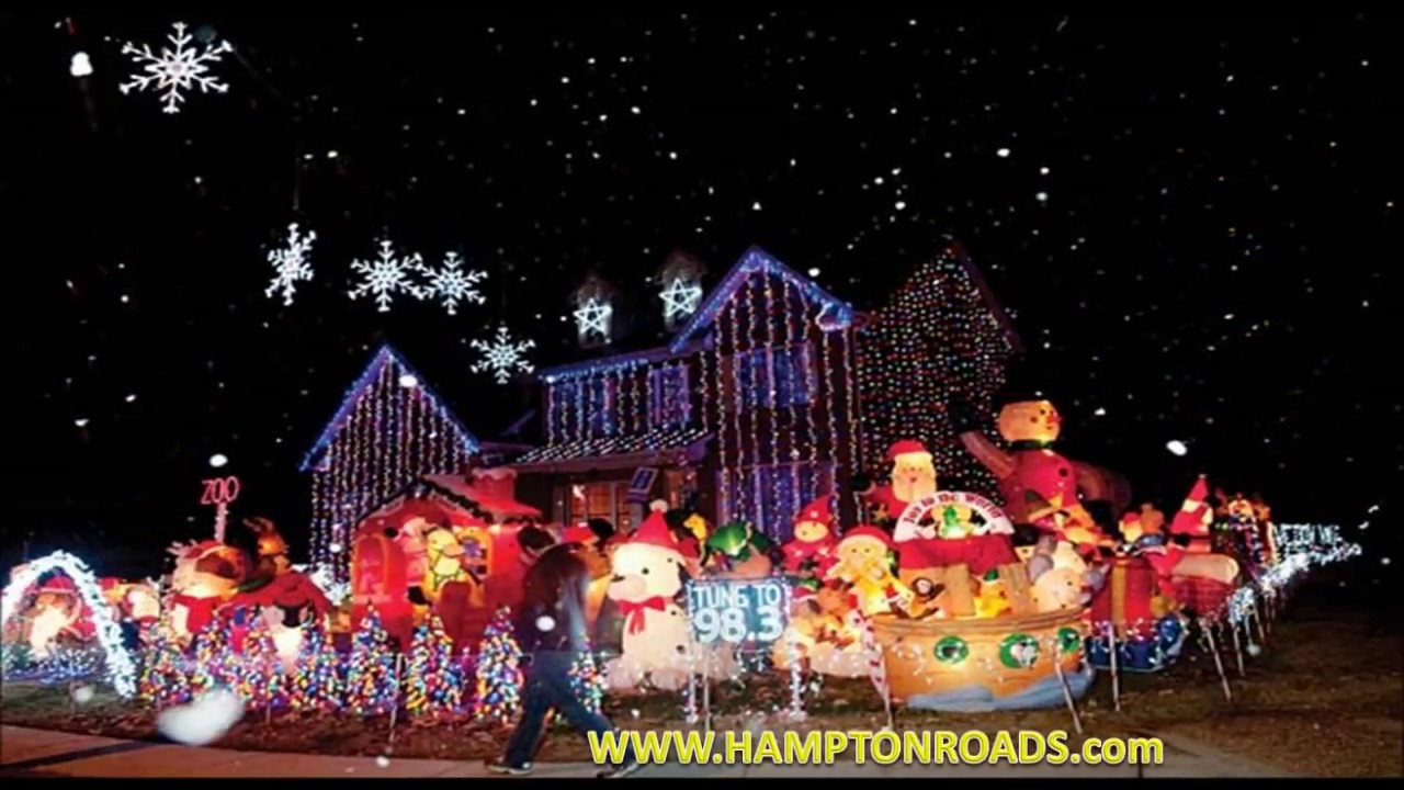 BEST CHRISTMAS LIGHT DISPLAYS 2017 With Traditional Christmas .