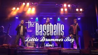 The Baseballs - Little Drummer Boy (Live Christmas Special)