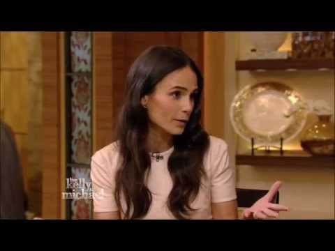 Jordana Brewster Live! With Kelly and Michael 2015 04 03