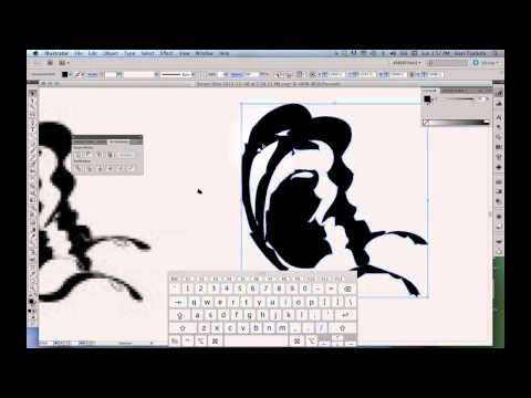 How to Clean Up Illustrator Live Trace Drawings with the Pen Tool