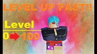 BEST WAY TO LEVEL UP!! | Roblox: Dragon Ball Z Final Stand