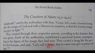 Was Adam created by a huge team of scientists?