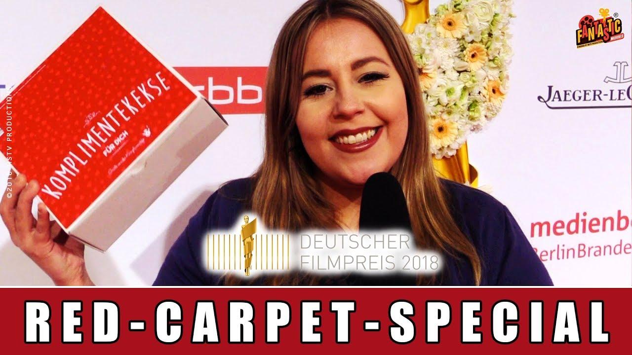 Deutscher Filmpreis 2018 - Vivi verteilt Glückskekse an die Stars!!
