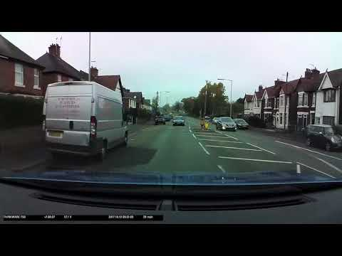 Demonstration Of A Thinkware F50 Dash Camera With Optional Speed Camera Location Warning Function