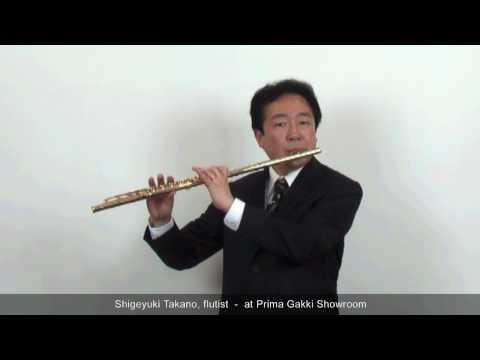 Our Guest Artist #05 Shigeyuki Takano, the flutist - at Prima Gakki Showroom
