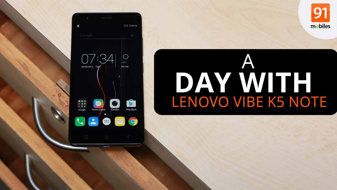 Lenovo Vibe K5 Note with 4GB RAM and 64GB storage launched