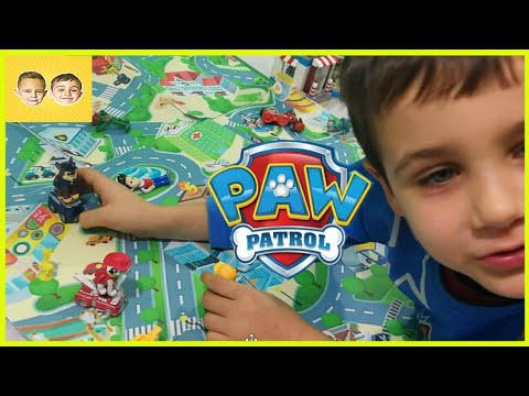BEST Paw Patrol Chase Marshall Ryder DIY Paper Paw Patrol City Play Time Alex and Max Psi Patrol