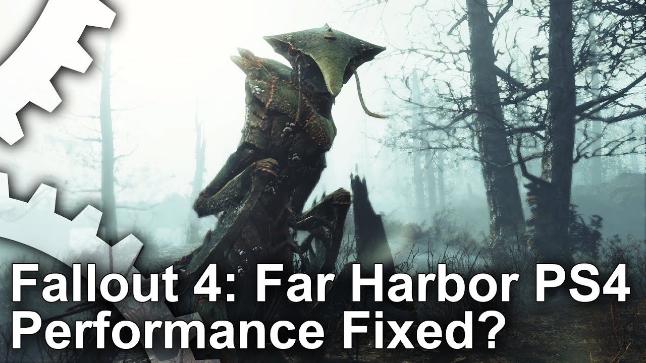 An Unusual 'Fallout 4: Far Harbor' Fix Cures The Atrocious PS4 Framerate