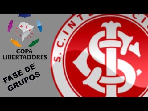 Pes 17 - Liga Master - Libertadores com o Inter : Fase de Grupos