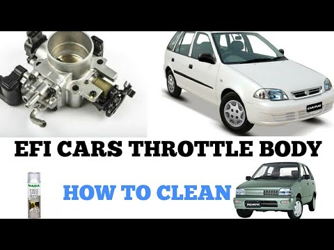 Efi Cars Throttle Body and Engine Room Clean || RP Ep - 15
