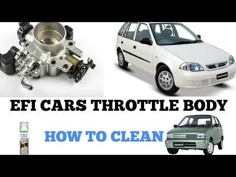 Efi Cars Throttle Body and Engine Room Clean || Meenakariyan Ep - 15