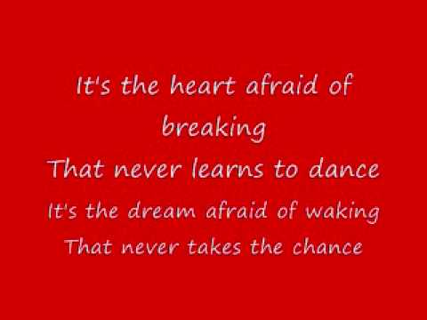 LeAnn Rimes The Rose (lyrics)