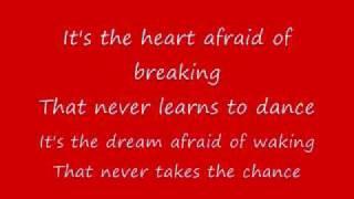 LeAnn Rimes The Rose (lyrics)