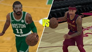 Masked Kyrie Vs Isaiah Thomas In A 1v1! NBA 2K18 Challenge!