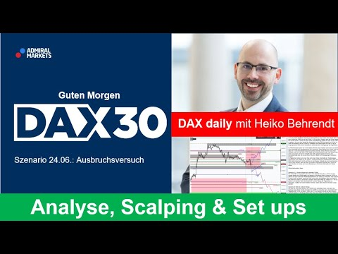 DAX aktuell: Analyse, Trading-Ideen & Scalping | DAX30 | CFD Trading | DAX Analyse | 24.06.2020