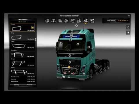 Euro Truck Simulator 2 Volvo FH16 2013 + Tuning
