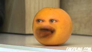 The Annoying Orange-Portocala enervanta-hey Apple!