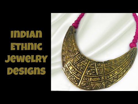Indian Ethnic Jewelry Designs Part 07