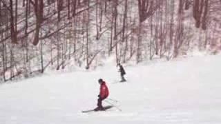 Enzino va a sciare al Terminillo