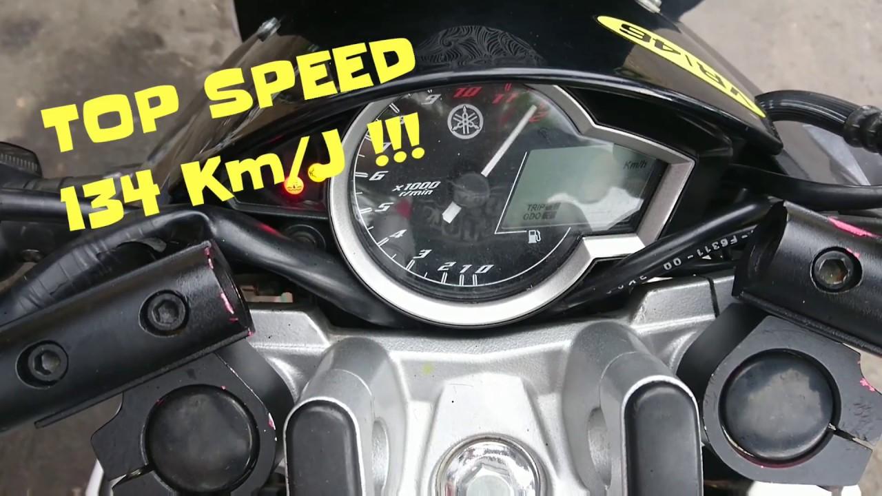 Top Speed Vixion