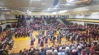 WesT Milford Highlander Band Tattoo 2017  Amazing Grace played by all the bag pipers and Clifton an