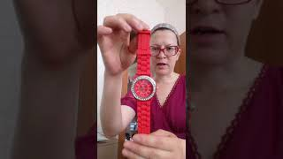 Видео обзор - Часы с силиконовым ремешком. Товары из Китая