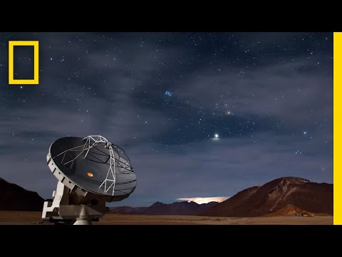 Time-Lapse: Exploring the Cosmic Dawn | National Geographic