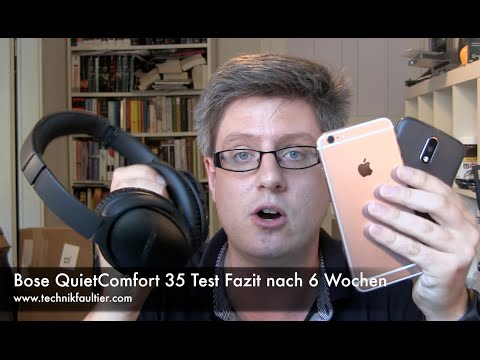 bose quietcomfort 35 test fazit nach 6 wochen youtube. Black Bedroom Furniture Sets. Home Design Ideas