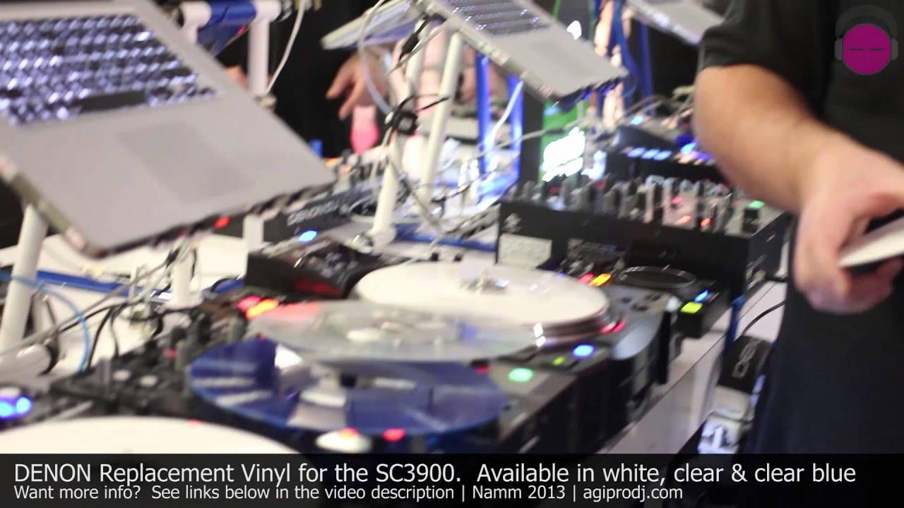 Denon Sc3900 Replacement Vinyl Colors Namm 2013 Agiprodj Com Youtube