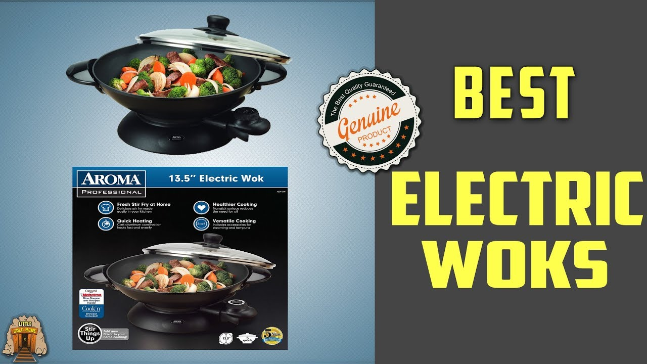 Top 5 Best Electric Woks Review 2018 - YouTube