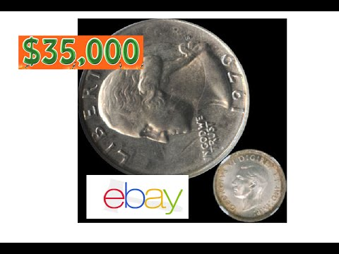 Old 1970 QUARTER Selling for $35,000 on Ebay (Struck 1941 Canadian 1970-S  Mint Proof Error Misprint)