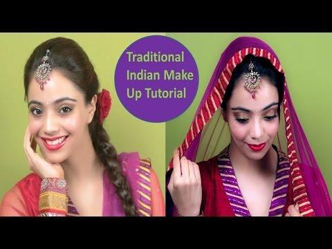 Traditional Indian Make Up Tutorial (Hindi)