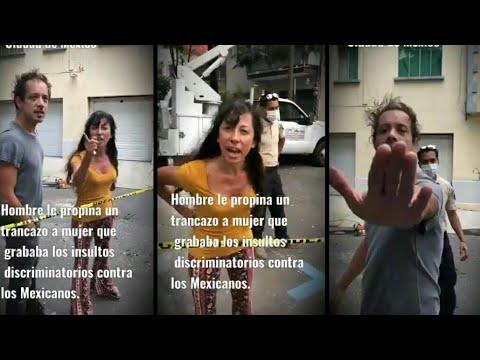 """""""¡Fílmame, india horrible!"""": pareja argentina insulta a vecina de la colonia Hipódromo, CdMx."""