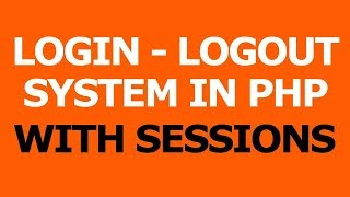 Login Logout system in php with Session - Hindi Tutorials Mp3