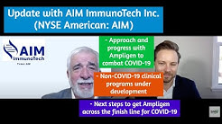 AIM ImmunoTech Describes Their Approach and Progress with Ampligen to Combat COVID-19